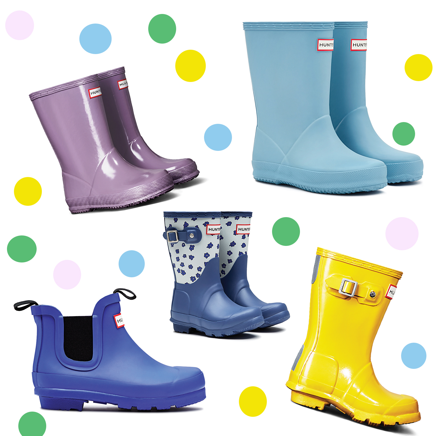 best website f0892 e2eef Gummistiefel von Hunter - Kids - Lebe Berlin